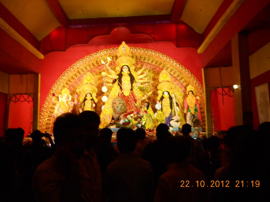 Photo Of Durga Puja 2012 At Bhagalpur