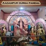 Aadampur Durga Puja Pandal 2013